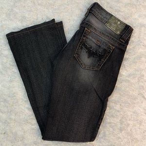 Guess Jeans Black Stone Wash / size 26
